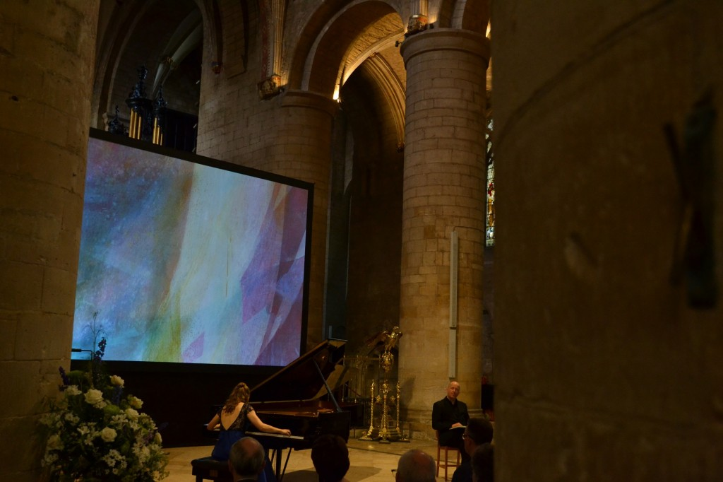 Cheltenham Festival, Tewkesbury Abbey, July 2015